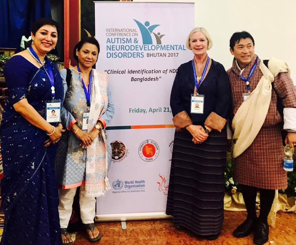 International Conference on autism and NDD in Bhutan 19-22 April'17